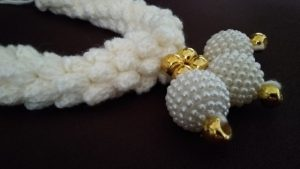 How to Crochet a Jasmine Flower Garland - Easy Pattern for Beginners