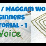 How to do Chain Stitch in Aari or Maggam Work