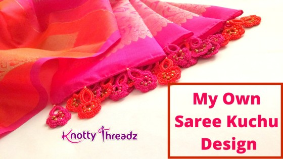 Saree Kuchu or Tassels using Crochet Motifs