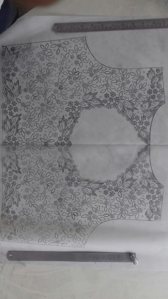 Hand Embroidery Tracings